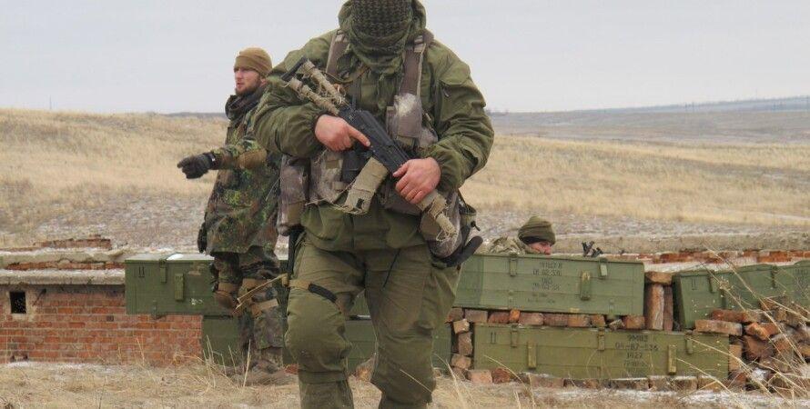 Бойцы АТО в Донбассе / Фото пресс-центра полка Азов