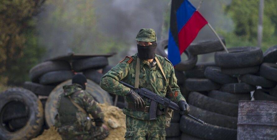 Боевики в Донбассе / Фото: ТСН