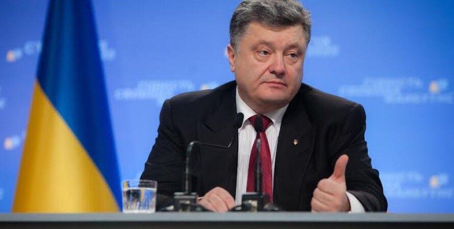 Петр Порошенко на пресс-конференции / Фото: пресс-служба президента
