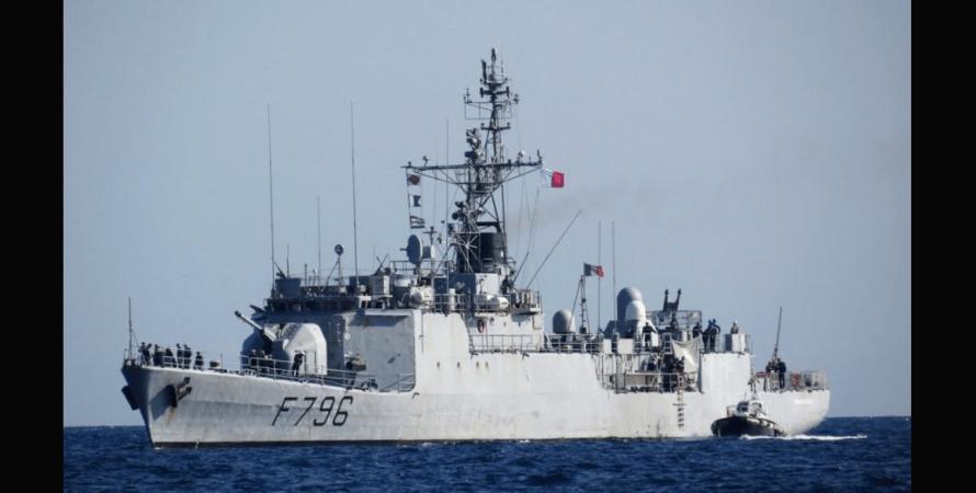 Франція, корвет, F796 Commandant Biro, чорне море, фото