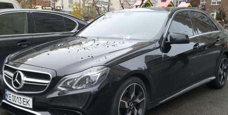 стрельба, Позняки, Киев, автомобиль Mercedes, автомат Калашникова, АК47