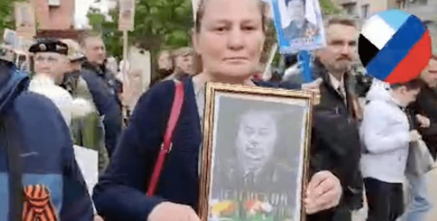 Татьяна Монтян, бессмертный полк, донецк, днр, ордло