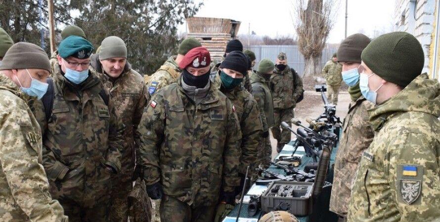 Военная делегация,  Польша, Донбасс, ООС, военные учения