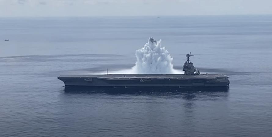 USS Gerald R Ford, випробування, авіаносець