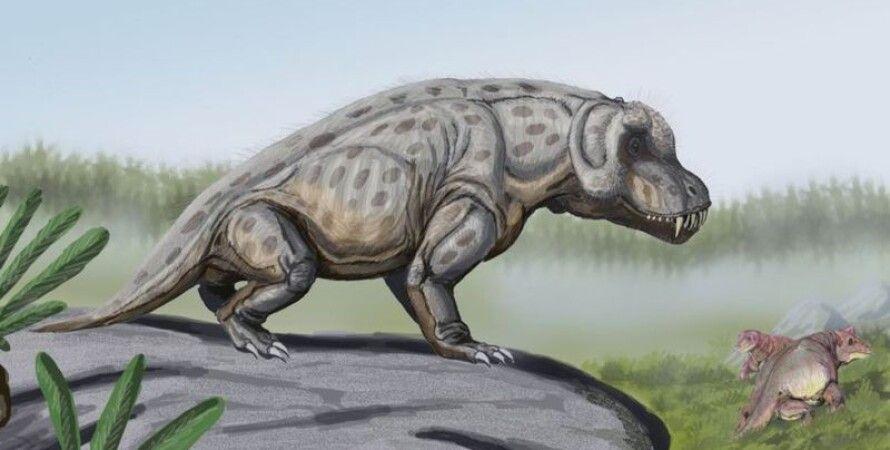 антеозавр, дейноцефалов, хижаки