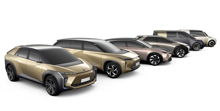 Toyota BZ, електромобілі Toyota BZ, електромобілі Toyota