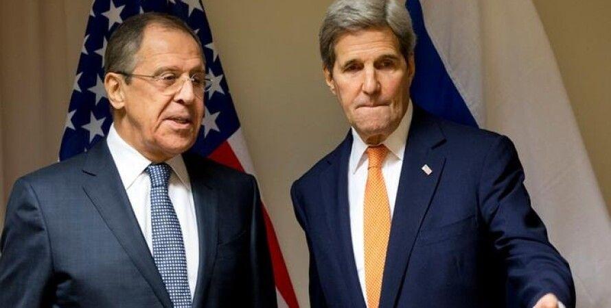 Джон Керри и Сергей Лавров / Фото: Getty Images