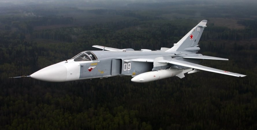 Су-24М, бомбардировщик Су-24М, авиация РФ