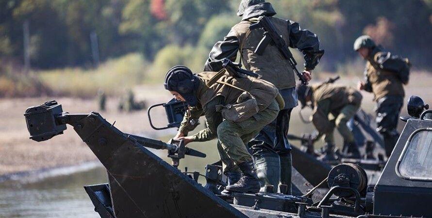 Российские солдаты на учениях / Фото пресс-службы Минобороны РФ