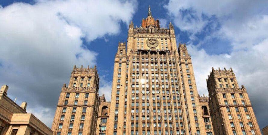 МЗС РФ, дипломатичний скандал, висилка дипломатів, затримання Олександра СОНЮК, українські дипломати