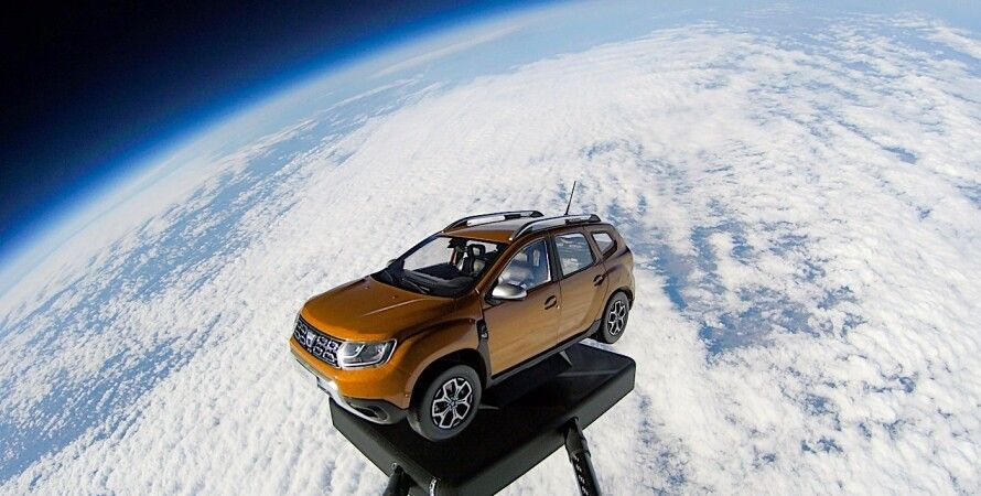 Dacia Duster, Dacia Duster запустили в космос