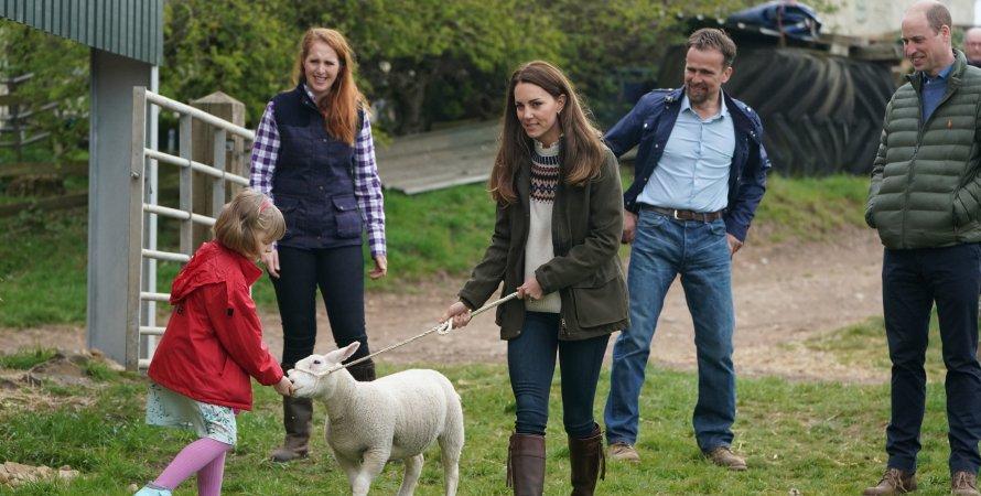 принц Вільям, Кейт Міддлтон, сімейна ферма