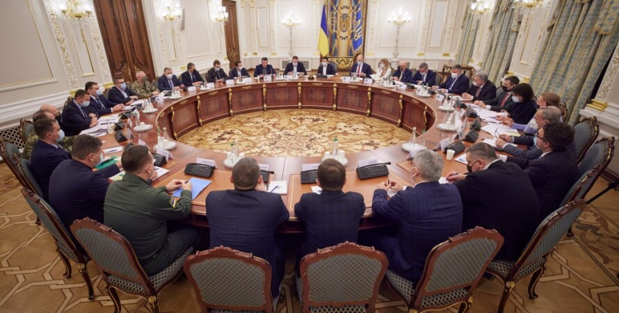 Заседание СНБО, Владимир Зеленский, санкции, контрабанда, контрабандисты