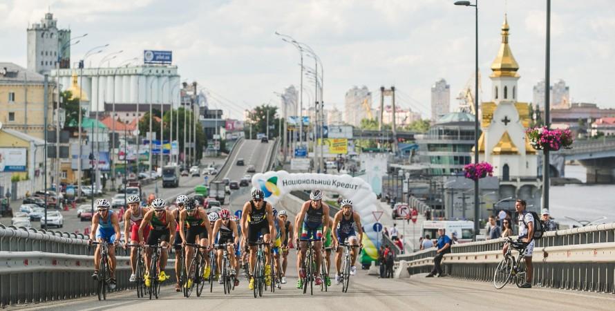 триатлон, киев, велосипед, фото