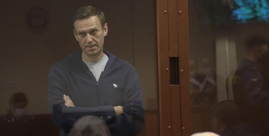 Алексей Навальный, оппозиционер, колония, СИЗО, выговор,