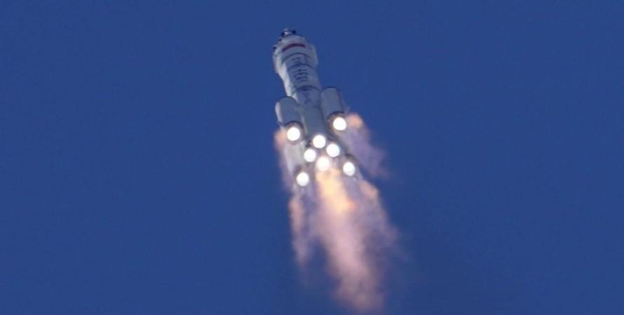 запуск, ракета, китай, космос, фото