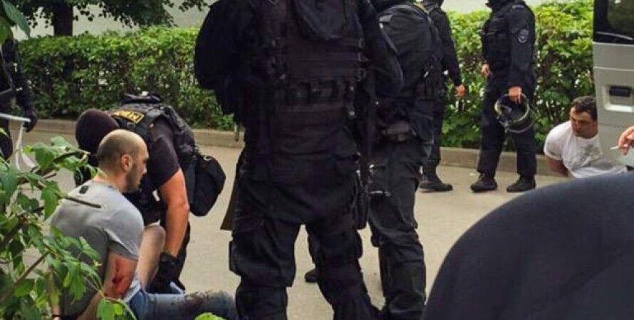 Один из задержанных в Москве / Фото: Twitter