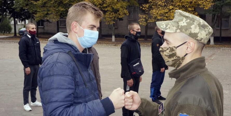 всу, армия, призыв, призыв 2021, вооруженные силы украины