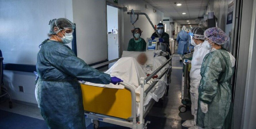 больница, Киев, коронавирус