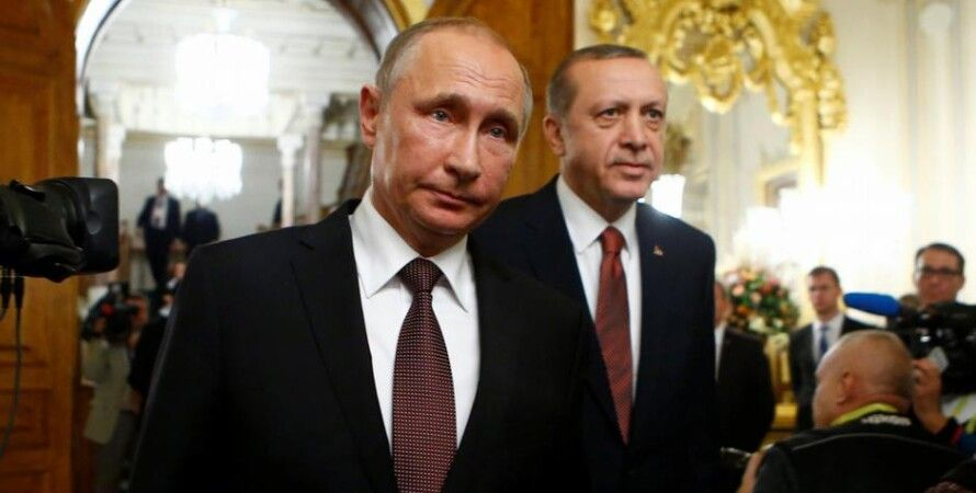 Владимир Путин и Реджеп Тайип Эрдоган / Фото: Reuters