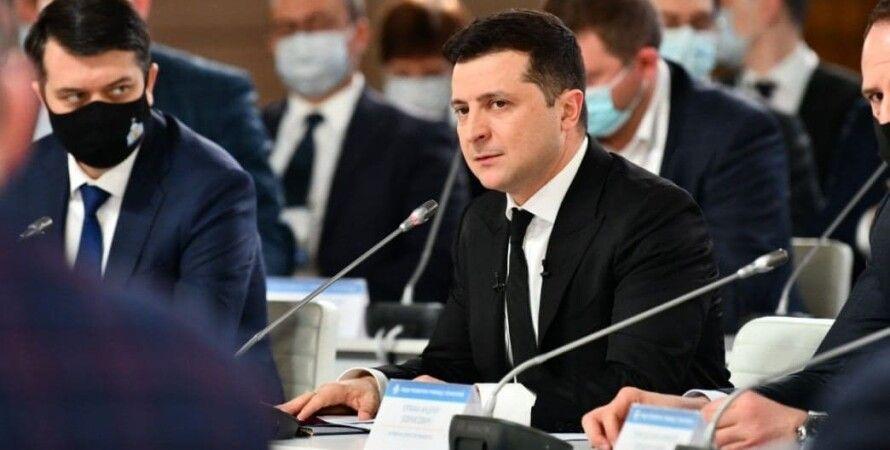 Владимир Зеленский, офис президента, санкции, снбо, указ