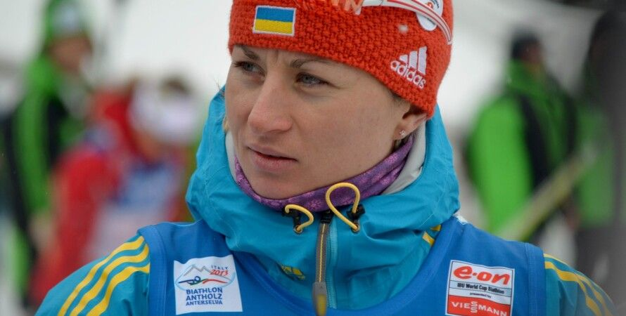Валя Семеренко / Фото: biathlon.com.ua