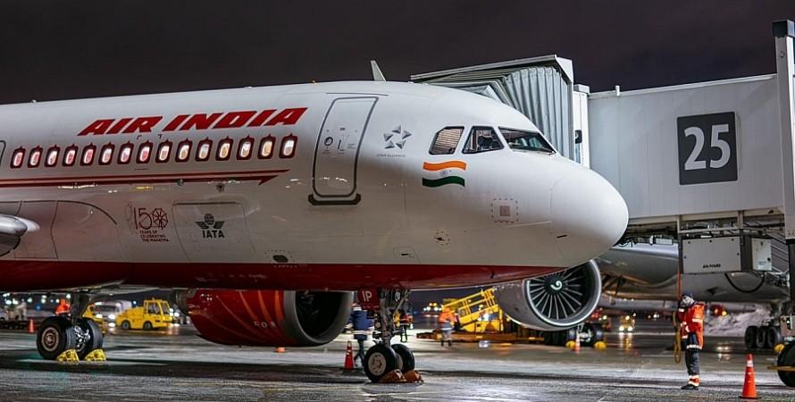 Air India, дели, сша, нью йорк, индия, летучая мышь, самолет, вернулся, борт, аэропорт, вылет