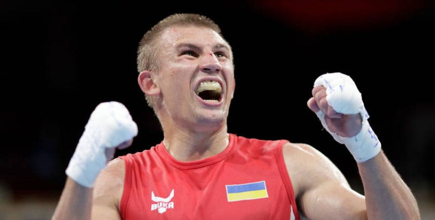 Александр Хижняк, Олимпиада-2020, бокс, финал