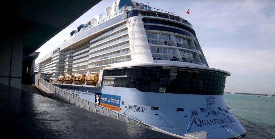 круиз, лайнер, коронавирус, Royal Caribbean