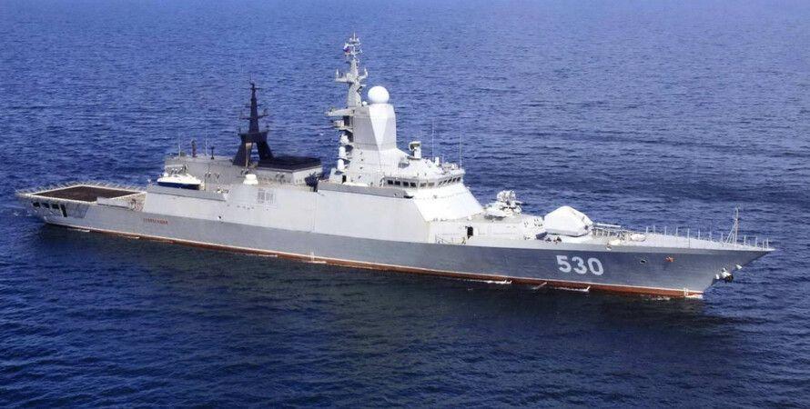 Военный корабль РФ / Фото: korabley.net