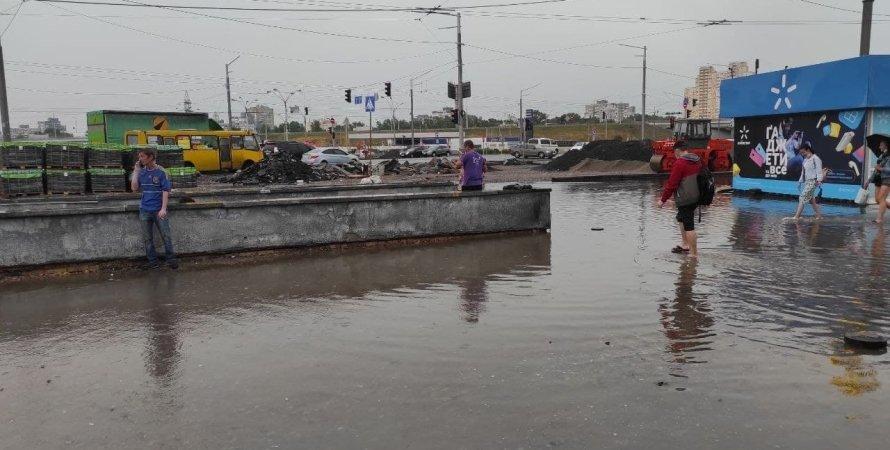 Киев, ливень в Киеве, ливень в Киеве 19 июля, потоп в Киеве