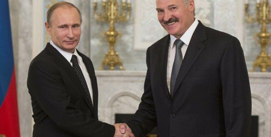 "Александр Лукашенко и Владимир Путин / Фото: РИА ""Новости"""