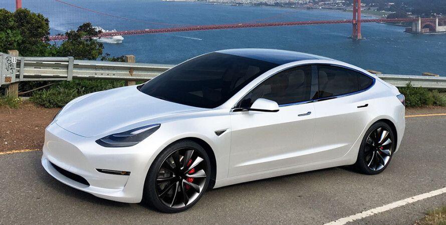 Tesla Model 3, електрокар