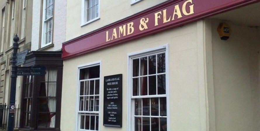 Lamb and Flag, Оксфорд, паб, ресторан, Джон Толкин, пандемия коронавируса