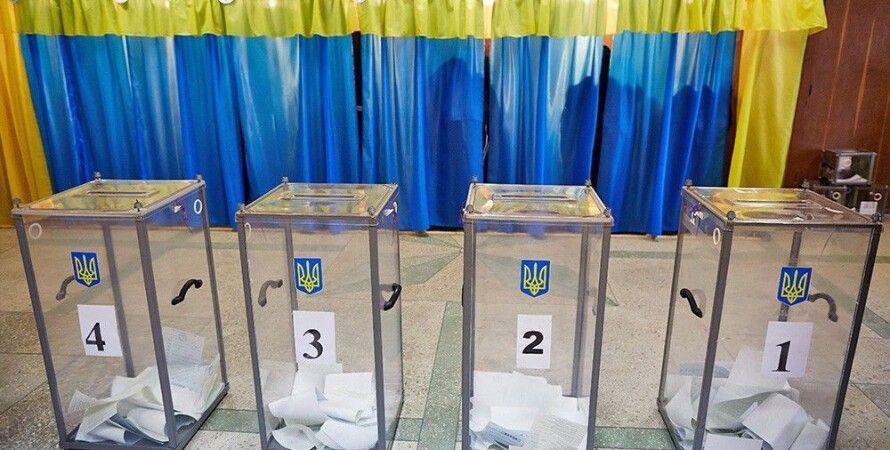Кабинки для голосования, выборы, местные выборы, урны, бюллетени