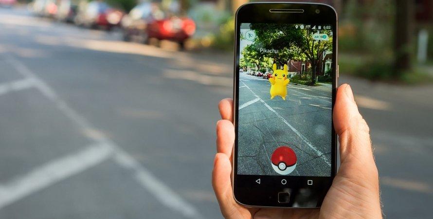 Гра, смартфон, Pokémon GO