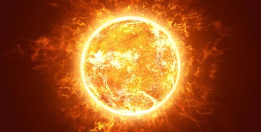 Солнце, поверхность, звезда, фото