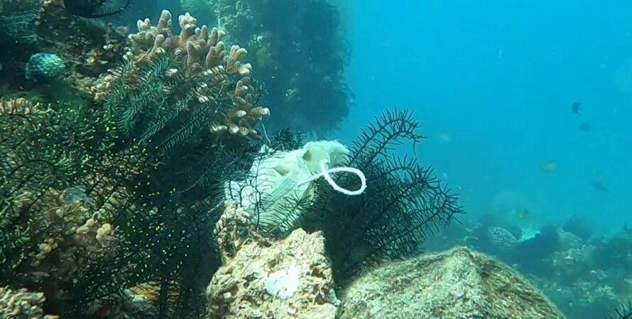 маска, море, коронавірус