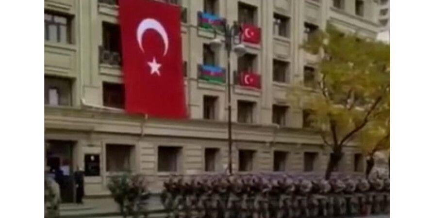 Азербайджан, Турция, парад победы