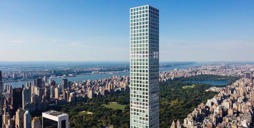 Парк-авеню 432, небоскреб, манхэттен, нью-йорк, самое высокое жилое здание в мире, 432 Park Avenue