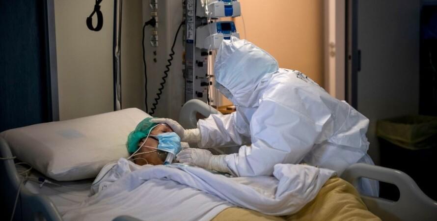 Ліжко, ліжко-місце, госпіталізація, коронавірус, ковід, COVID