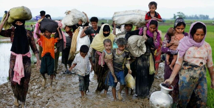 Беженцы рохинджа / Фото: thedailybeast.com