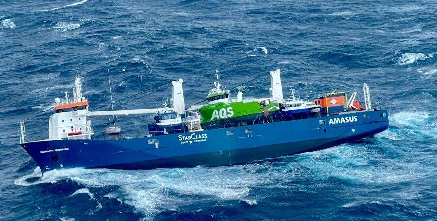 Норвегия, танкер, Eemslift Hendrika, крушение,