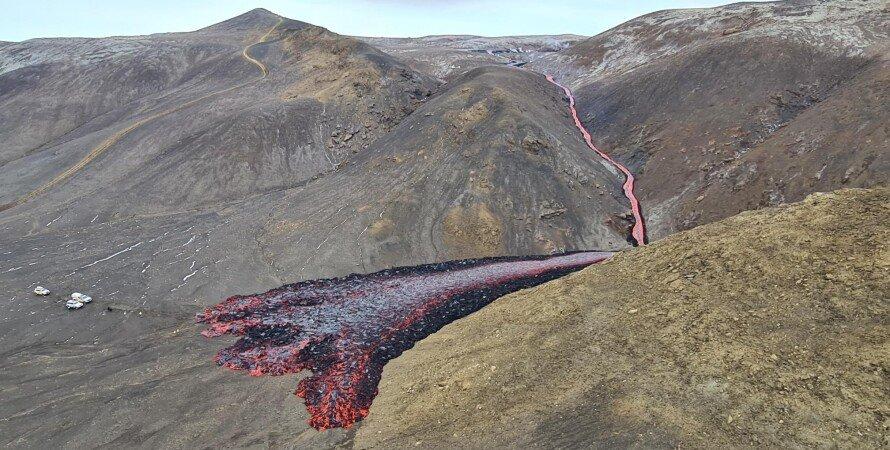 вулкан Фаградальсфьядль, виверження, вулкан