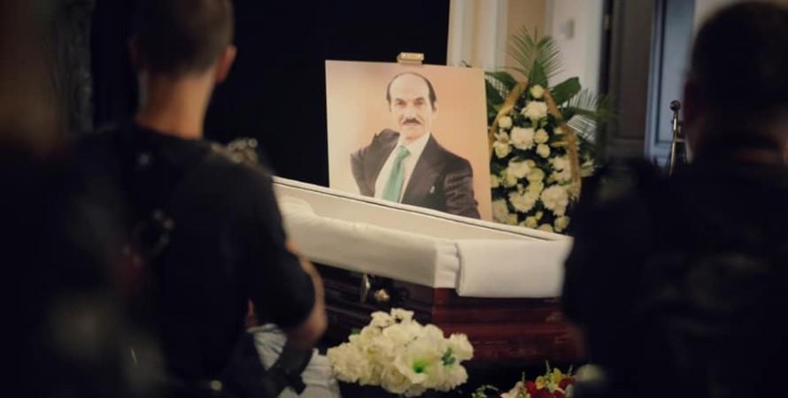 Прощання з Григорієм Чапкісом, похорон Чапкіса, прощання