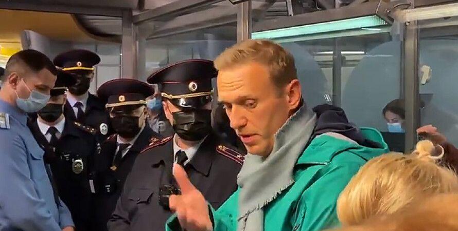 Навальний, затримання, Шереметьєво, аеропорт, росія