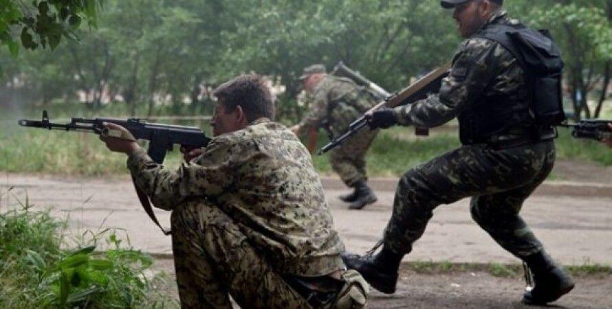 Боевики в Донбассе / Фото: www.aif.ua