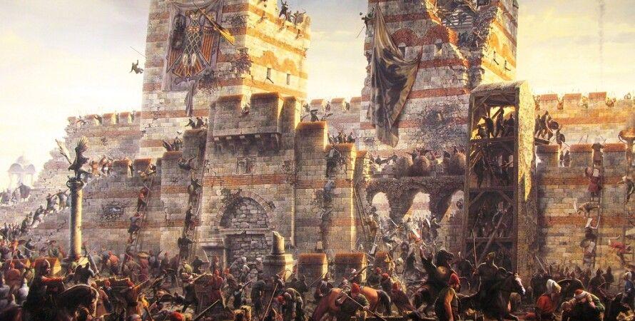 Взятие Константинополя турками в 1453 г.