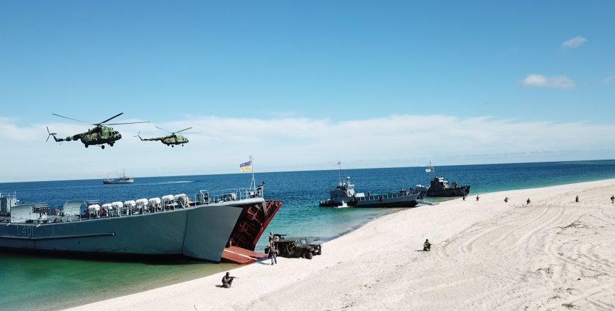 висадка десанту на берег