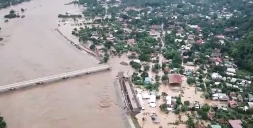 Наводнение в Филиппинах / Скриншот youtube / Filipinos In Australia